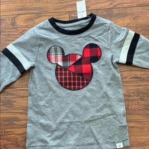 GAP Mickey Mouse long sleeve shirt